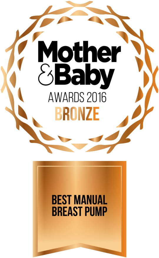 Mother and Baby 2016 Winner - Best Manual Breast Pump