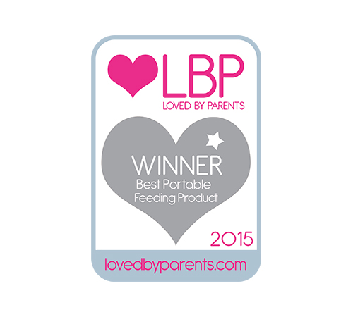 Winner of the Best Portable Feeding Product by Loved By Parents 2015