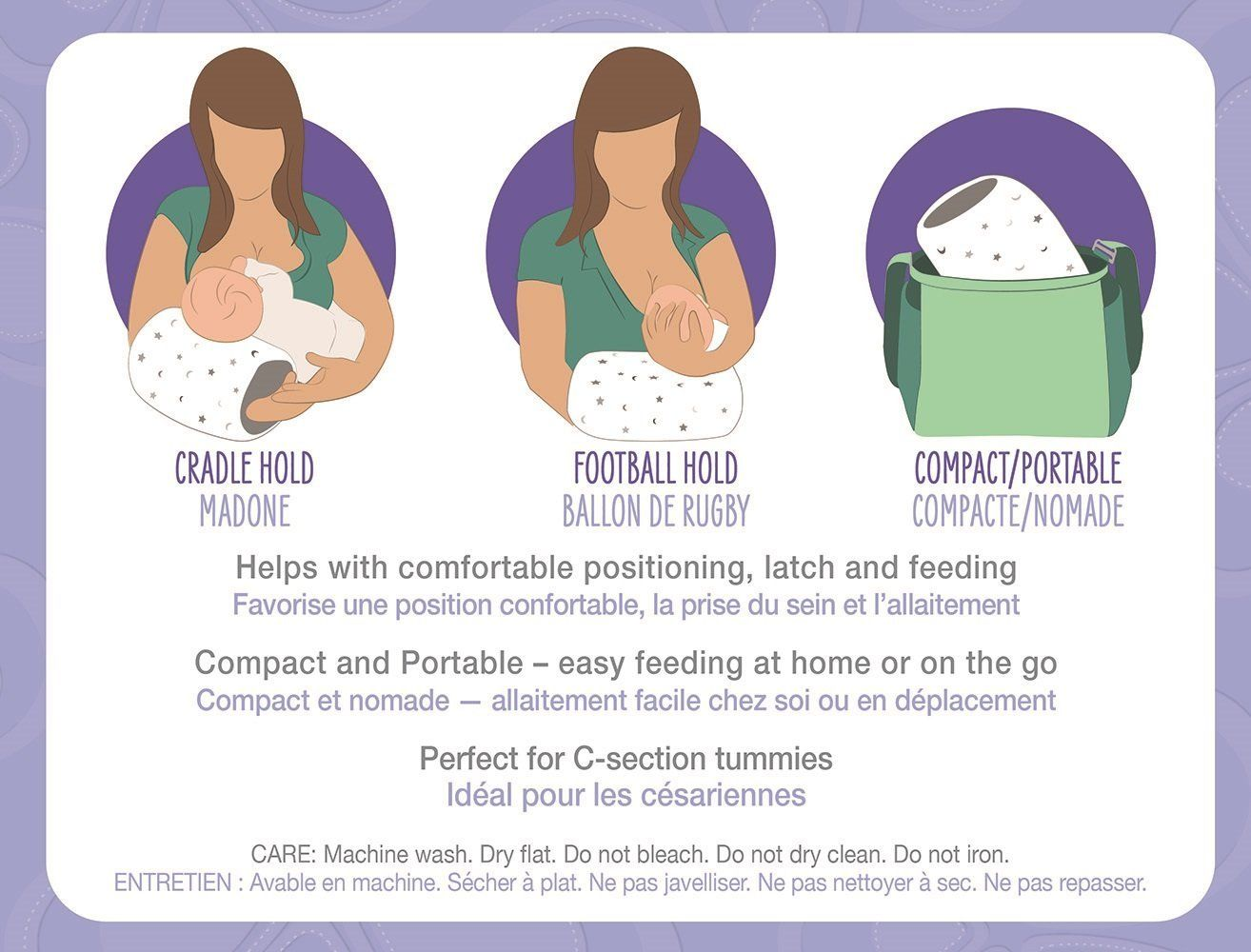 breastfeeding pillow information